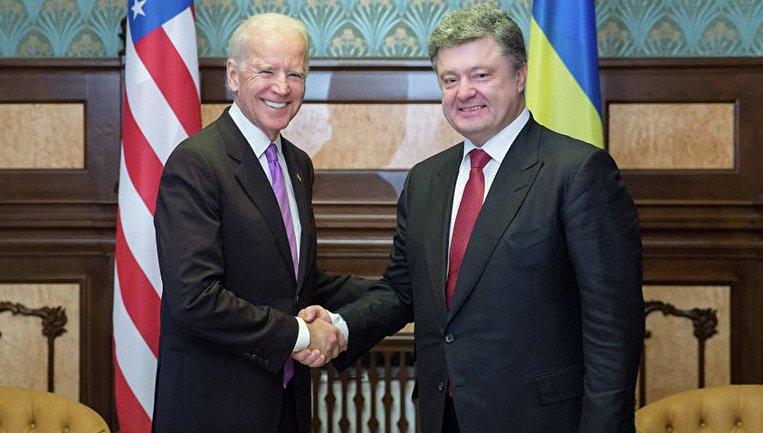 Джо Байден встретится с Петром Порошенко - фото 1