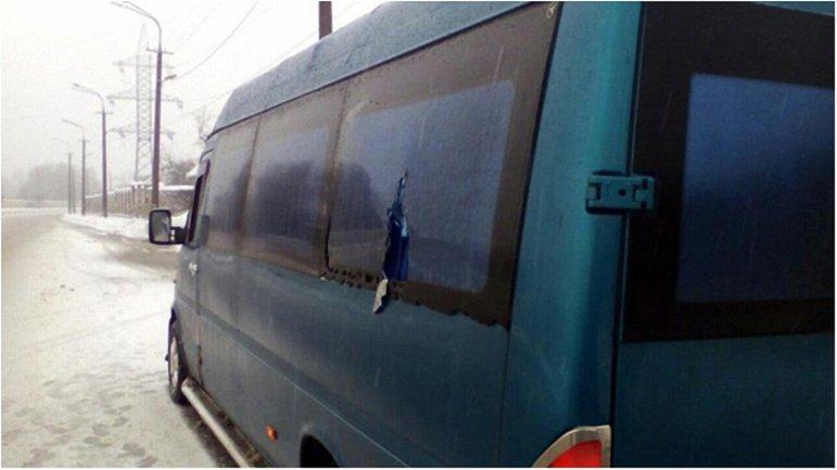 Машина комиссии, на которую напали  - фото 1