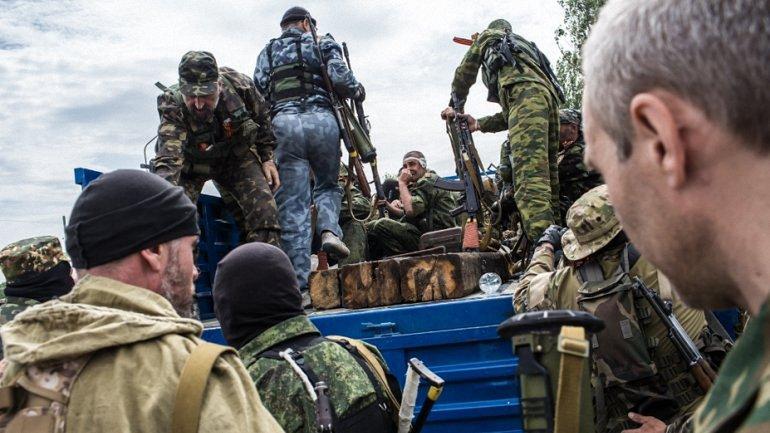 Разведка не уточняет потери боевиков в результате попадание на минное поле - фото 1