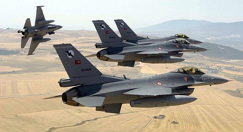 ВВС Турции наносит удары - фото 1