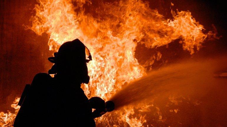 Огнем были повреждены электрощитовая, проводка, дверь и три окна - фото 1