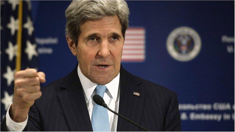 """Керри выразил поддержку """"демократической Украине"""" - фото 1"""