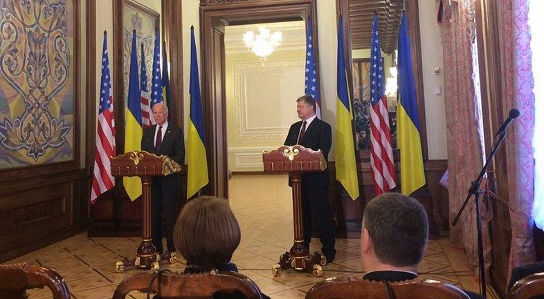 Байден подчеркнул, что РФ доджна выполнить свои обязательства по прекращению агрессии на Донбассе - фото 1