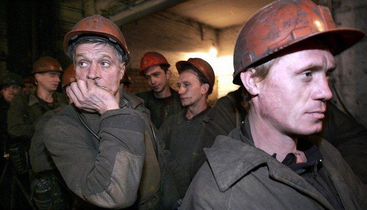 """Шахтеры недовольны тем, что в """"ДНР"""" им задерживают зарплату - фото 1"""