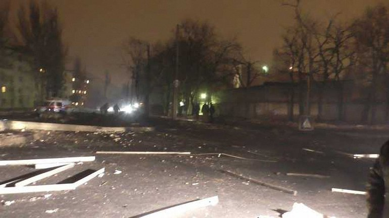 Донецкая область содрогнулась от страшного взрыва - фото 1