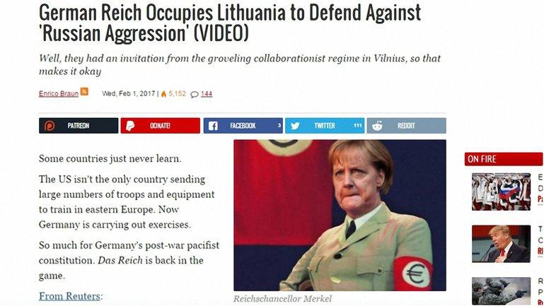 Российская пропаганда выбрала мишенью Меркель - фото 1