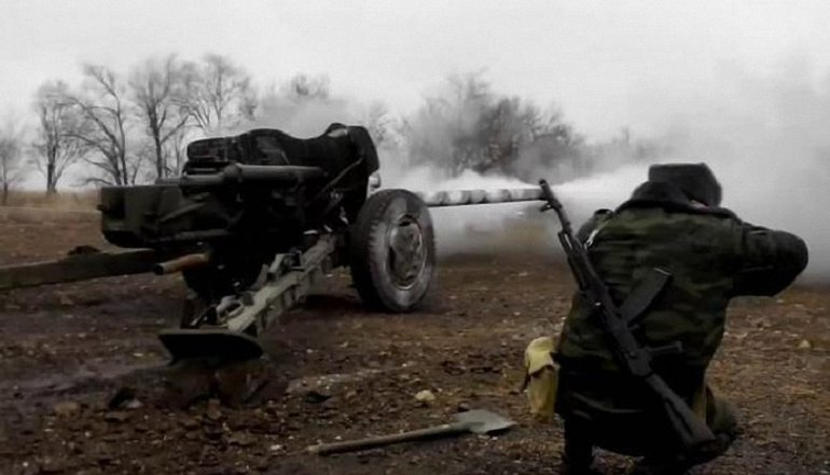"""Боевики продолжают нарушать режим """"тишины"""", обстреливая украинские позиции из тяжелого вооружения - фото 1"""