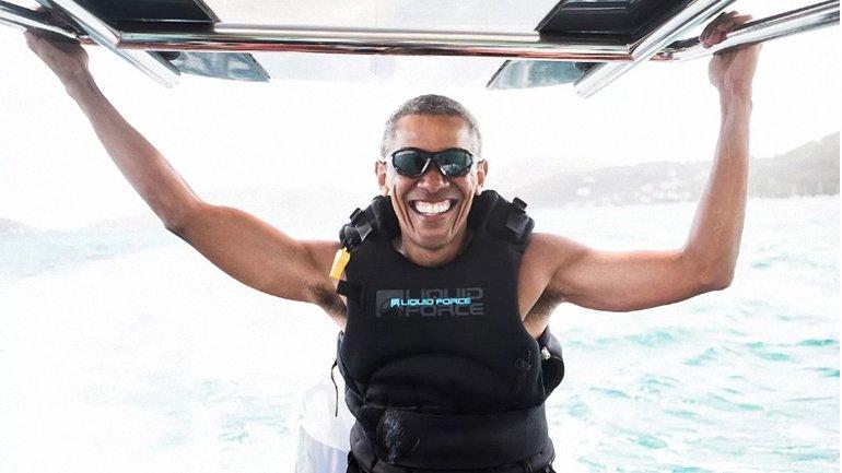 Счастливый Обама - фото 1