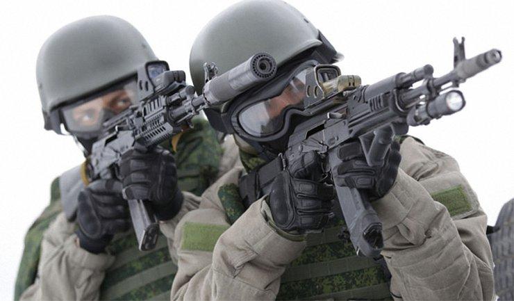 Спецназ ведет разведку на Донбассе - фото 1