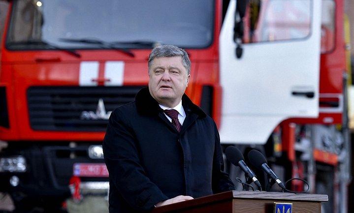 Петр Порошенко уверяет, что России не удастся разделить ответственность с Украиной за случившееся в Авдеевке - фото 1