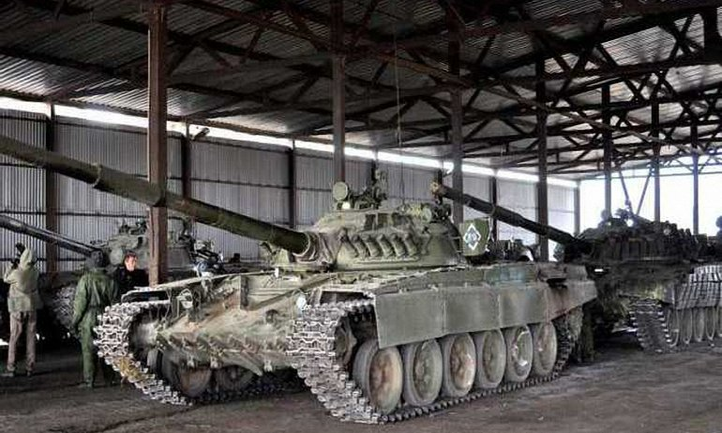 Боевики не отводят тяжелое вооружение от линии разграничения - фото 1