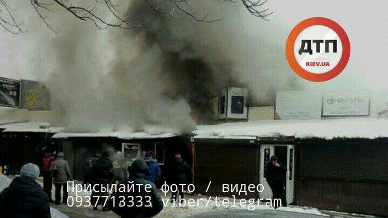 После пожара минимум пострадавший за помощью с ожогами - фото 1