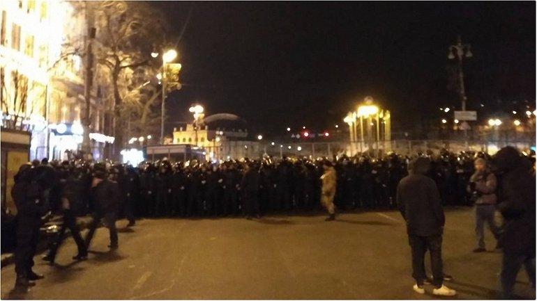 Ситуация в центре столицы стабилизировалась - фото 1