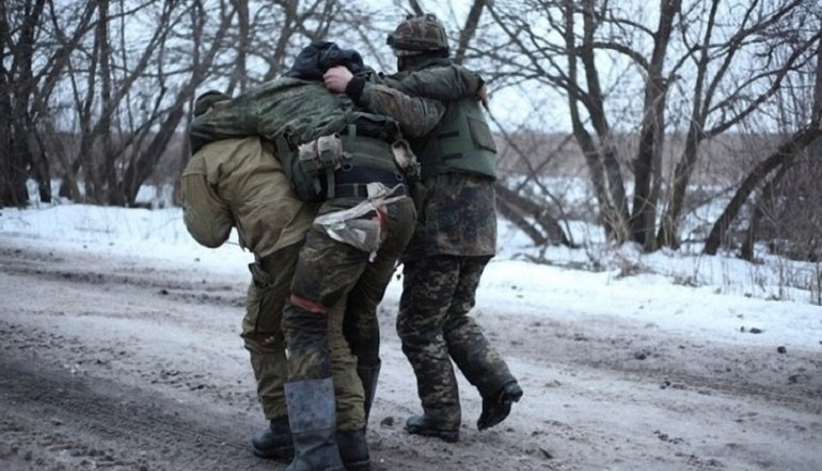 Четверо солдат - ранены - фото 1
