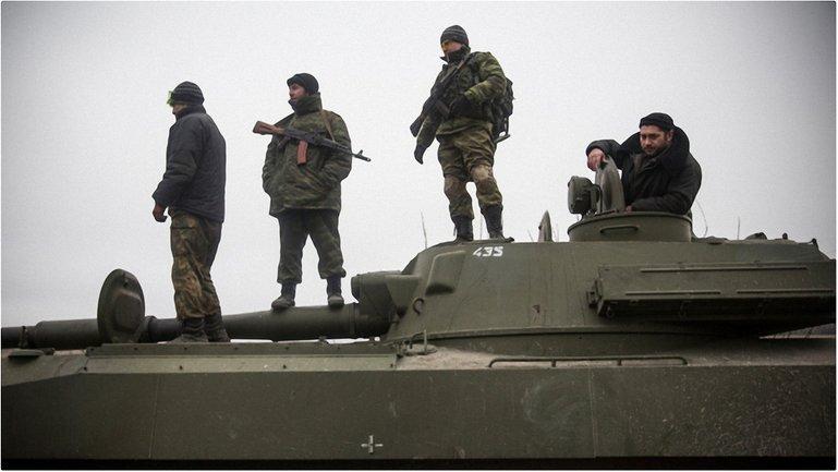 Активная передислокация техники оккупантов на Донбассн - фото 1