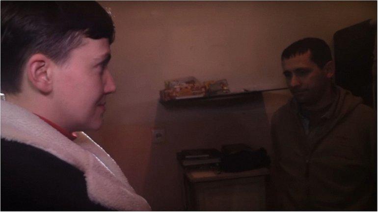 Общение Савченко с пленными снимали пропагандистские телеканалы РФ - фото 1