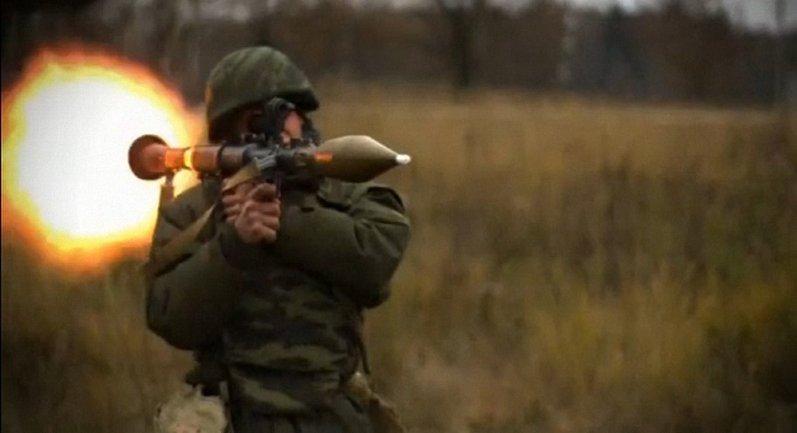 Боевики вели огонь из подконтрольного оккупантам н.п. Александровка - фото 1