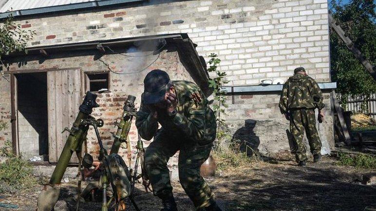 Боевики обстреляли позиции сил АТО из минометов и танка - фото 1