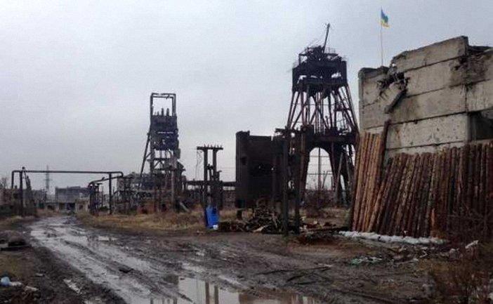 Позиции ВСУ на шахте Бутовка нещадно обстреливают - фото 1