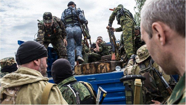 Боевики подорвались на собственном минном поле - фото 1