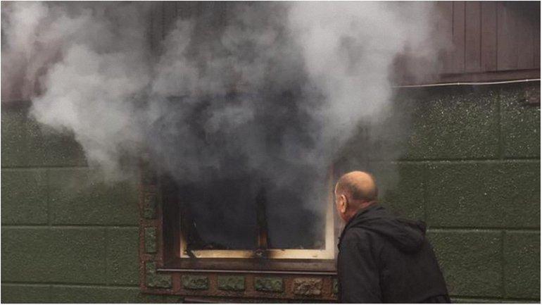 В доме возник пожар - фото 1