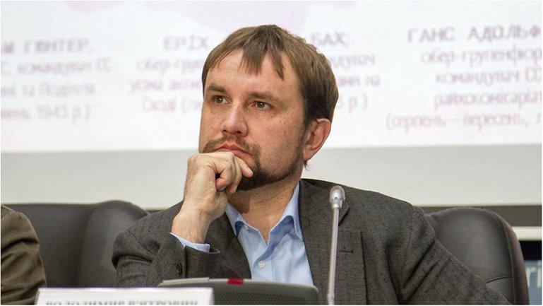 В Киеве подожгли Институт нацпамяти  - фото 1