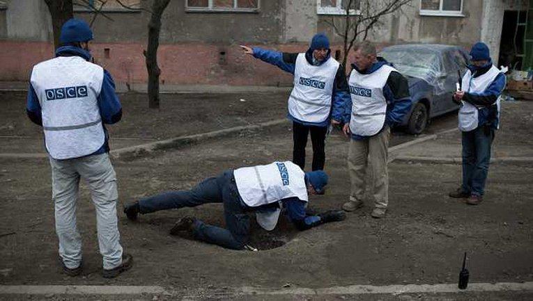 Боевики мешают работать наблюдателям ОБСЕ - фото 1