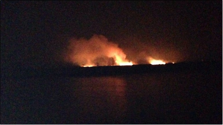 Пожар на Осокорках - фото 1