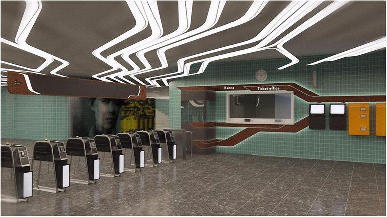 Так будет выглядеть станция метро Левобережная - фото 1