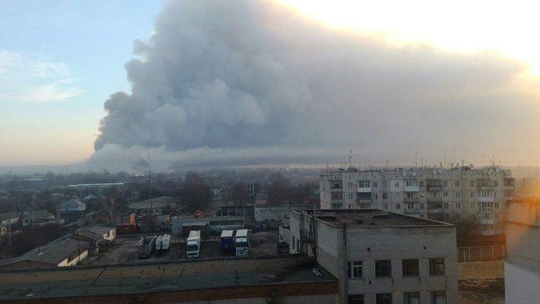 К ликвидации последствий пожара привлечено 154 единицы техники - фото 1
