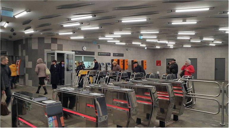 Появилось фото обновленной станции Левобережной - фото 1