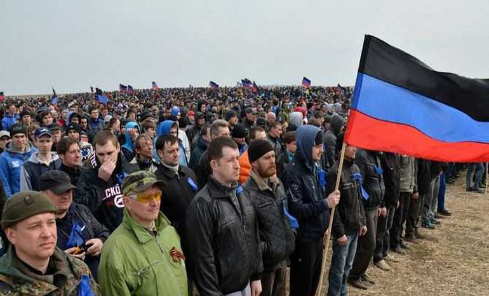 "Боевики согнали к Саур-Могиле тысячи ""резервистов"" - фото 1"