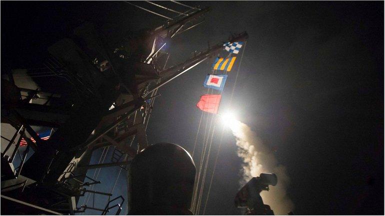 Это первое прямое военное действие со стороны США за 6 лет войны в Сирии - фото 1
