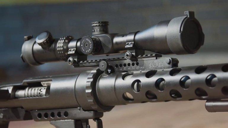 Винтовка предназначена только для стрельбы с упора - фото 1
