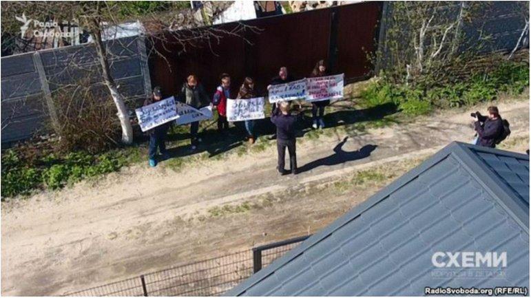 Схеми. Докази участі СБУ в замовній акції під будинком Шабуніна - фото 1