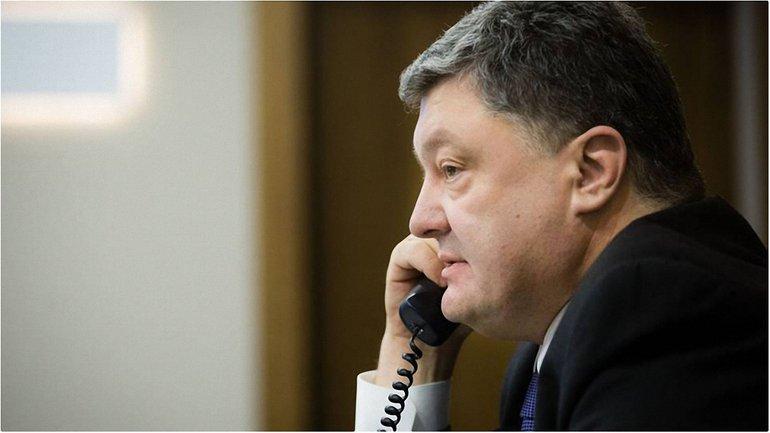 Порошенко выразил соболезнования близким американского представителя ОБСЕ - фото 1