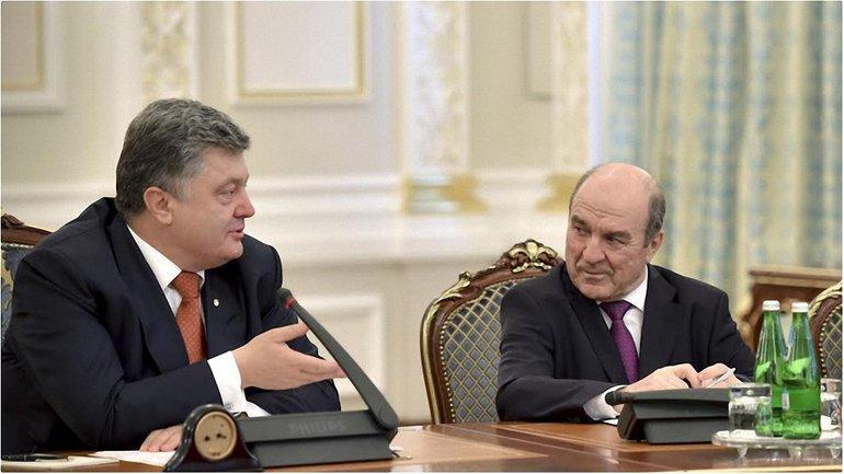 Губерский и Порошенко - фото 1