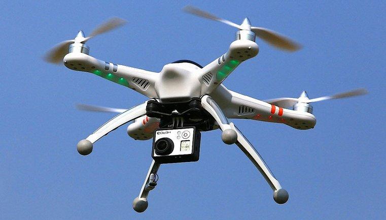 Журналисты вели съемки из квадрокоптера - фото 1