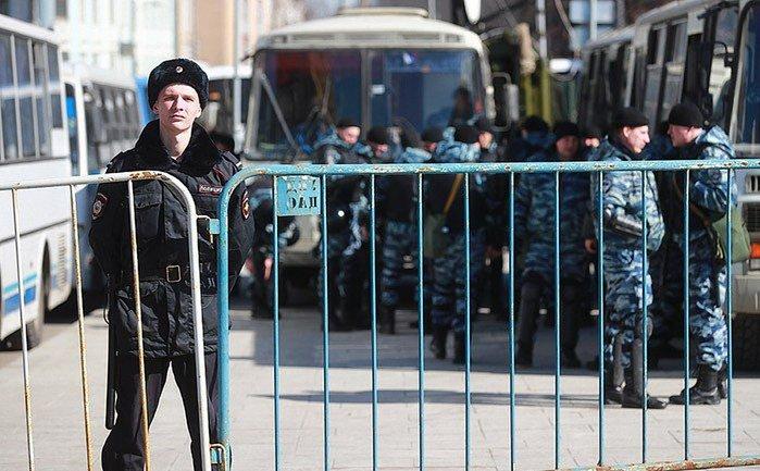 Во время митингов в Москве задержано более 50 человек - фото 1