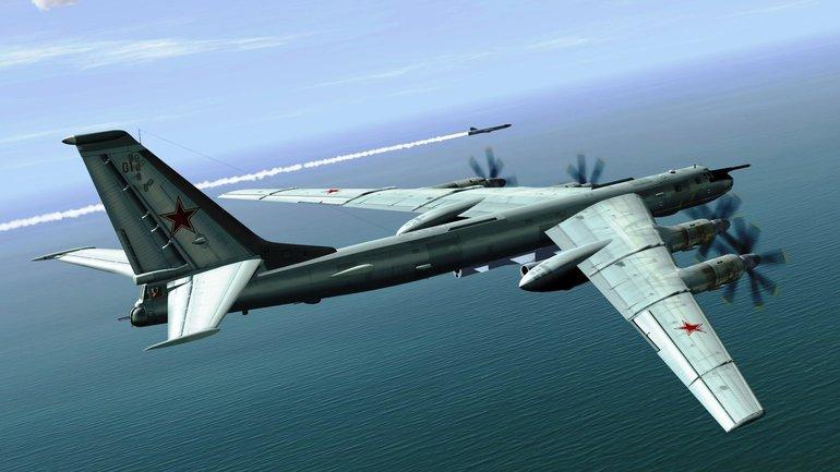 Российские Ту-95 были перехвачены американскими истребителями  - фото 1
