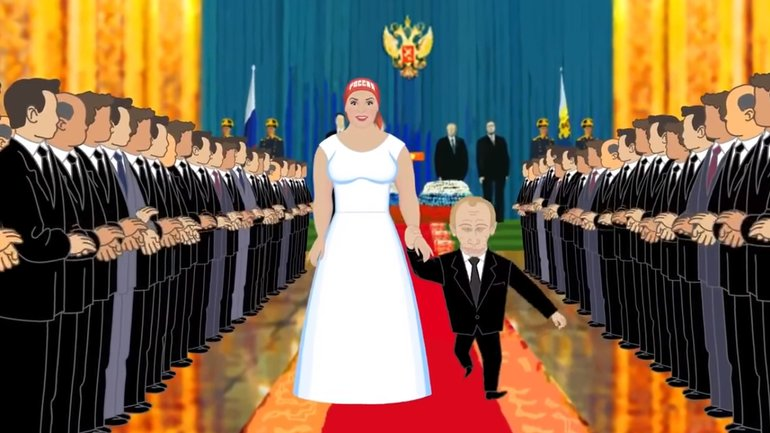 """Путин """"женился"""" на России 17 лет назад - фото 1"""