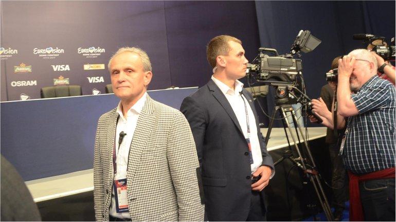 Начальник службы безопасности Евровидения с задачей не справился - фото 1