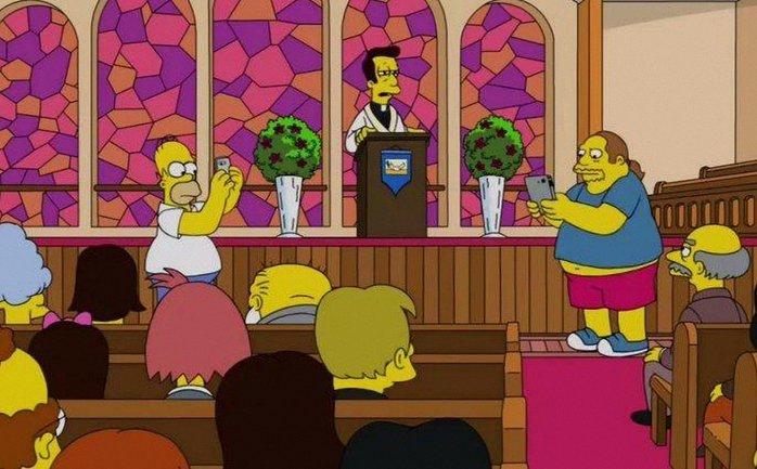 В мультфильме The Simpsons ловили покемонов в церкви. РПЦ недовольна - фото 1