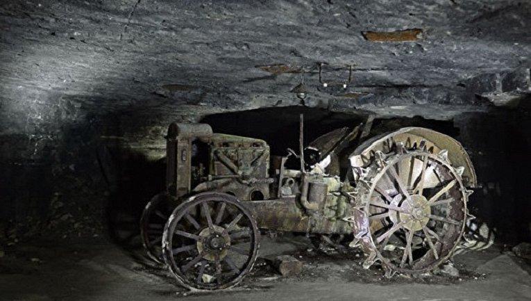 Трактор планируют установить на постаменте вблизи мемориала героям Аджимушкая - фото 1