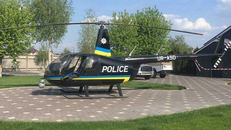 Вертолет незаконно переоборудовали и сдали копам - фото 1