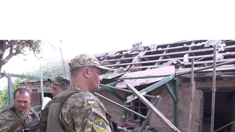 В штабе АТО расскрывают детали следствий обстрела в Авдеевке - фото 1