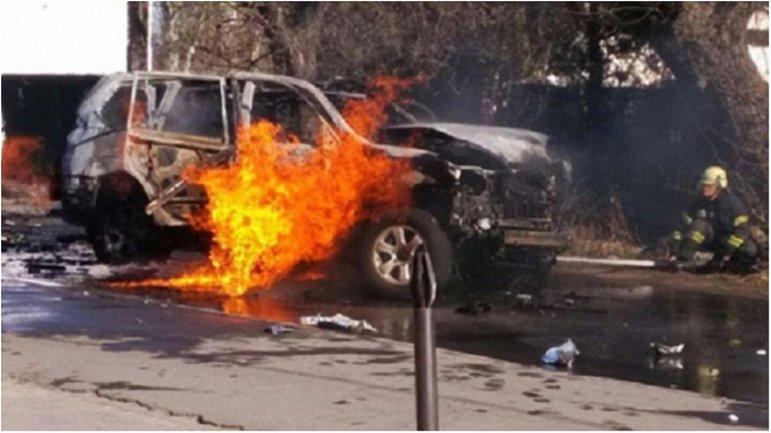 Взрывчатку в автомобиль полковника СБУ заложила женщина - фото 1