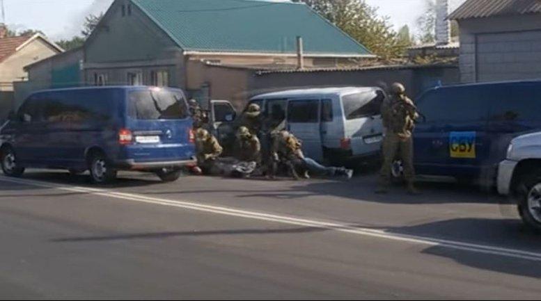 """Бойцы """"Альфы"""" задержали террористов - фото 1"""