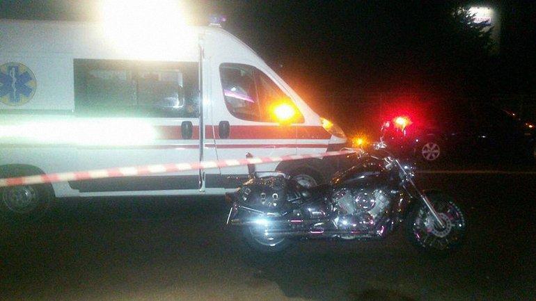 Мотоциклист скончался на месте - фото 1