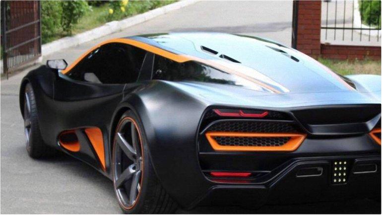 В Украине создали первый электромобиль суперкар - фото 1
